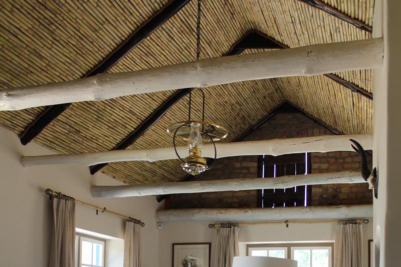 Spanish Reeded Ceilings For Boschendal